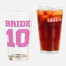 bride102 Drinking Glass