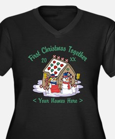 Personalize First Christmas Together Women's Plus