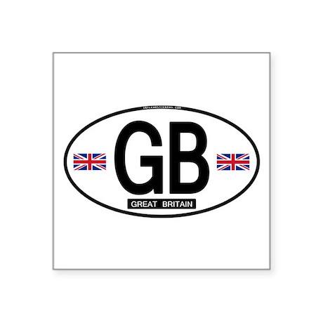 GB Oval Sticker (Proper) Sticker