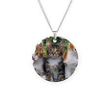 Tthree_kittens Necklace