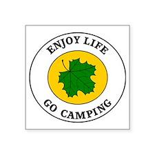 "camping5 Square Sticker 3"" x 3"""