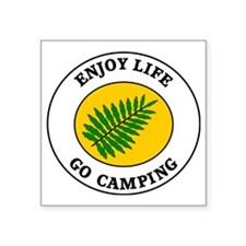 "camping2 Square Sticker 3"" x 3"""