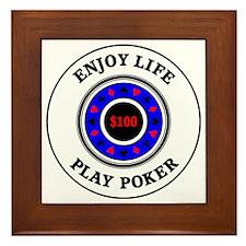 poker2 Framed Tile