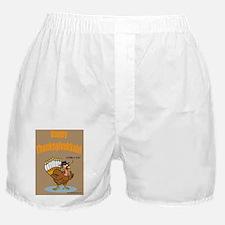 Thanksgivukkah Thanksgiving Hanukkah  Boxer Shorts