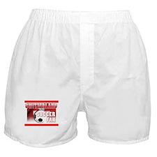 Switzerland Soccer Fan! Boxer Shorts