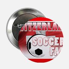 Switzerland Soccer Fan! Button