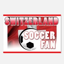 Switzerland Soccer Fan! Postcards (Package of 8)