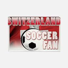 Switzerland Soccer Fan! Rectangle Magnet