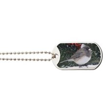 Junco with Berries Dog Tags