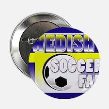 Swedish Soccer Fan! Button