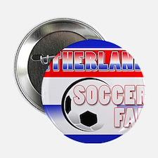 Netherlands Soccer Fan! Button