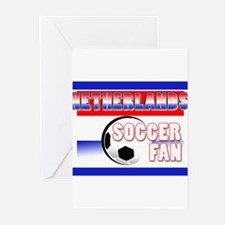 Netherlands Soccer Fan! Greeting Cards (Package of