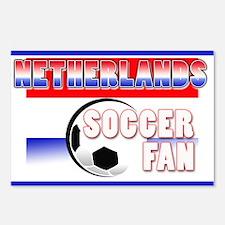 Netherlands Soccer Fan! Postcards (Package of 8)
