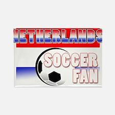 Netherlands Soccer Fan! Rectangle Magnet