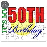 50th birthday for men Puzzles