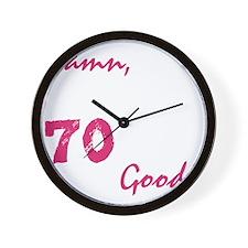 good70_dark Wall Clock