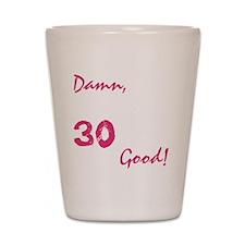 good30_dark Shot Glass