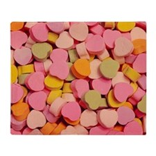 candy-hearts_8x12 Throw Blanket