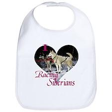 I Love Racing Siberians Bib