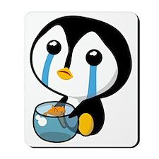 Sad Pengy Mousepad