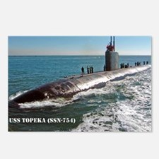 topeka mini poster Postcards (Package of 8)