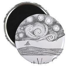 3-Vincent Van Crow 10x10 Template Magnet