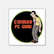 "OS Buddies : Conrad : 10x10 Square Sticker 3"" x 3"""