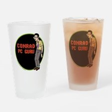OS Buddies : Conrad : 10x10 Outline Drinking Glass