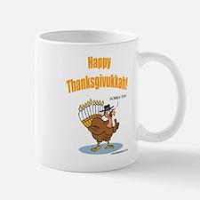 Happy Thanksgivukkah Turkey Mug