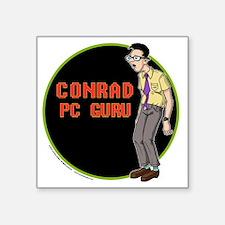 """OS Buddies : Conrad Square Sticker 3"""" x 3"""""""