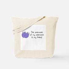 Anemone Friend Tote Bag