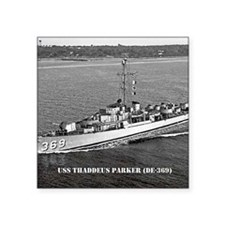 """t parker small poster Square Sticker 3"""" x 3"""""""