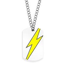 lightning Dog Tags