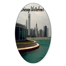 Chicago waterfront5.5x8.5 Decal