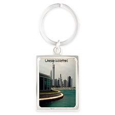 Chicago waterfront5.5x8.5 Portrait Keychain