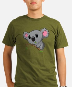 Hungry Koala Organic Men's T-Shirt (dark)