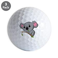 Hungry Koala Golf Ball