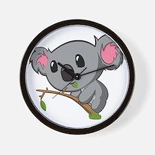 Hungry Koala Wall Clock