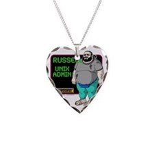 OS Buddies : Russell : 10x10  Necklace