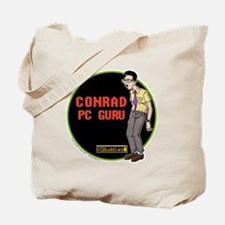 OS Buddies : Conrad : 10x10 Outline w/Log Tote Bag