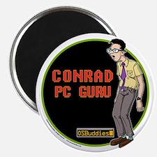 OS Buddies : Conrad : 10x10 Outline w/Logo Magnet