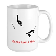 Catch Like a Girl Mugs