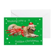 Golden Retriever Christmas Cards 2013 (Pk Of 10)