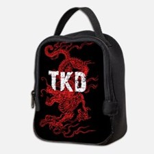 Taekwondo Dragon Neoprene Lunch Bag