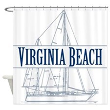 Virginia Beach - Shower Curtain