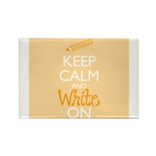 Keep Calm and Write On s Magnets