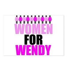 Women for Wendy Davis Postcards (Package of 8)