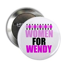"Women for Wendy Davis 2.25"" Button"