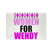 Women for Wendy Davis Rectangle Magnet