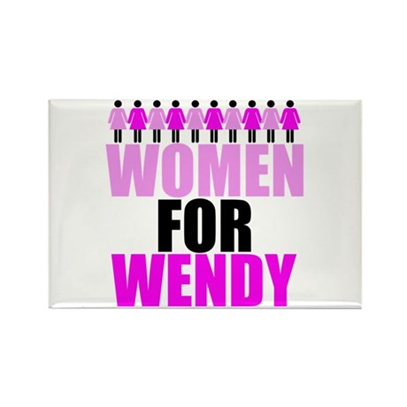 Women for Wendy Davis Rectangle Magnet